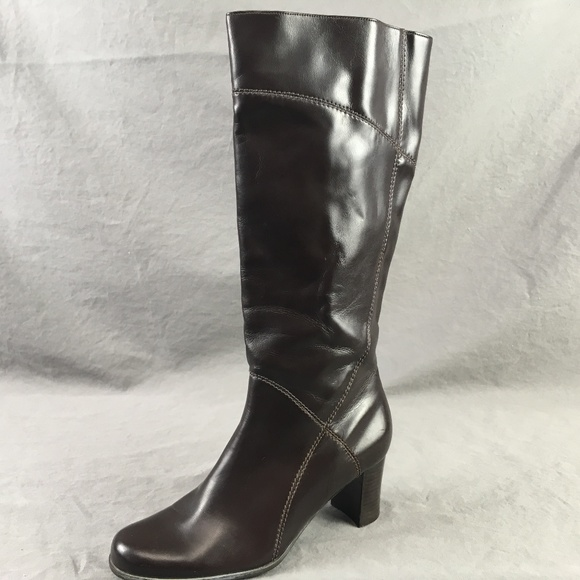 4048a4fcaf0 Naturalizer Boots Size 6.5 Brown Womens Kiersten